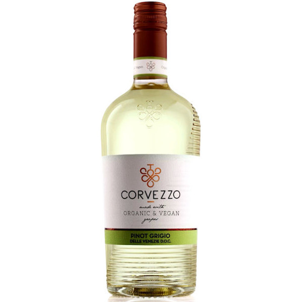 Corvezzo Organic and Vegan Delle Venezie Pinot Grigio DOC