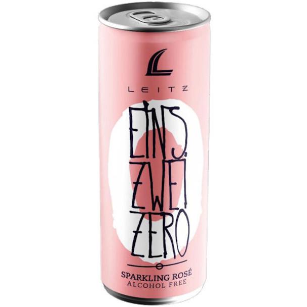 Leitz Eins Zwei Zero Alcohol Free German Sparkling Rose NV