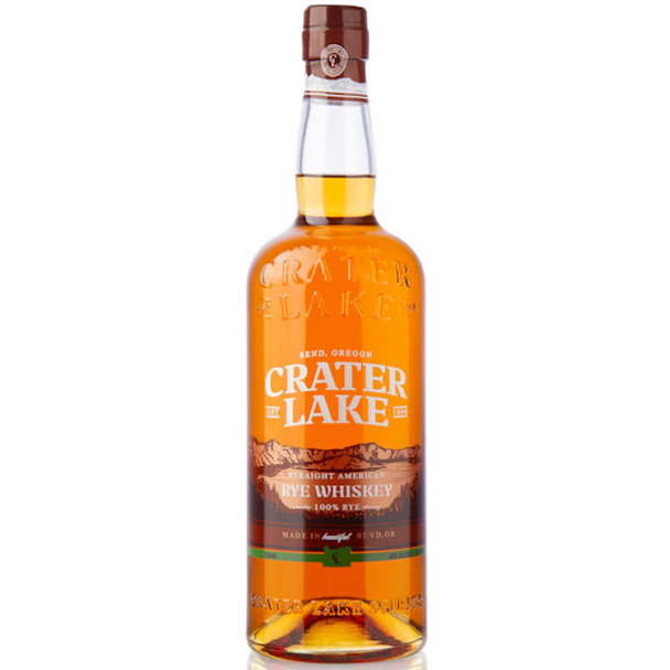 Crater Lake Straight American Rye Whiskey 750ml