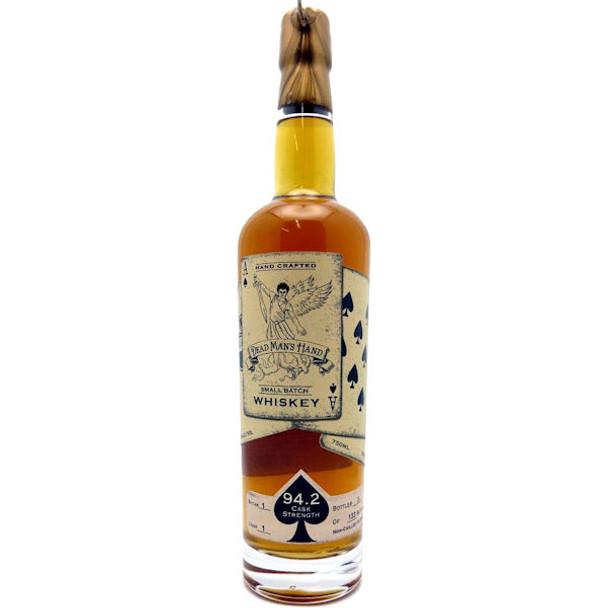 Dead Man's Hand Cask Strength Whiskey 750ml