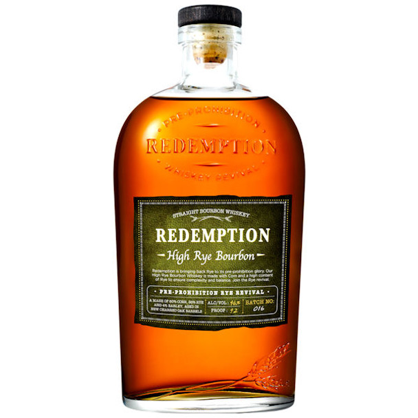 Redemption High Rye Bourbon 750ml