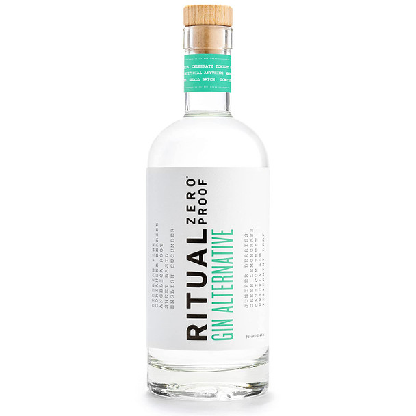Ritual Zero Proof Gin Alternative 750ml