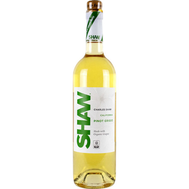Shaw Organic California Pinot Grigio