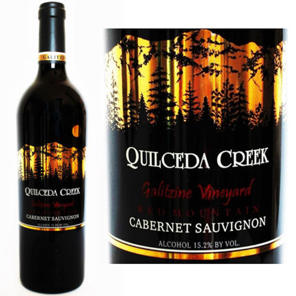 Quilceda Creek Galitzine Vineyard Red Mountain Cabernet
