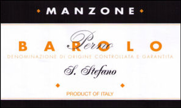 Manzone Barolo S. Stefano di Perno DOCG