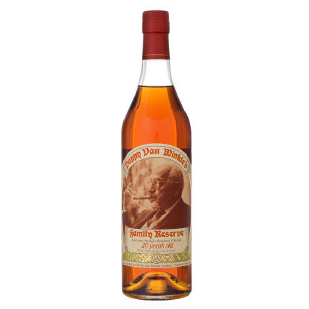 Pappy Van Winkle Family Reserve 20 Year Old Bourbon Whiskey 750ml
