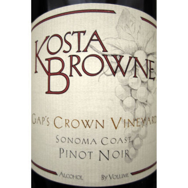 Kosta Browne Gap's Crown Sonoma Coast Pinot Noir