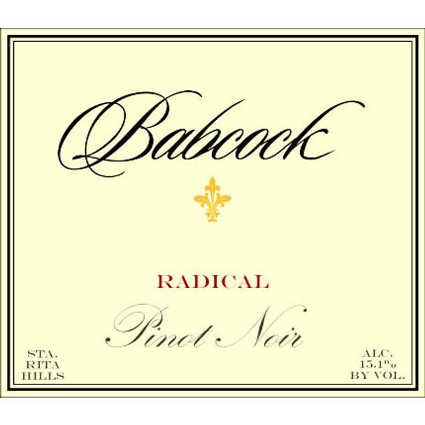 Babcock Radical Santa Rita Hills Pinot Noir