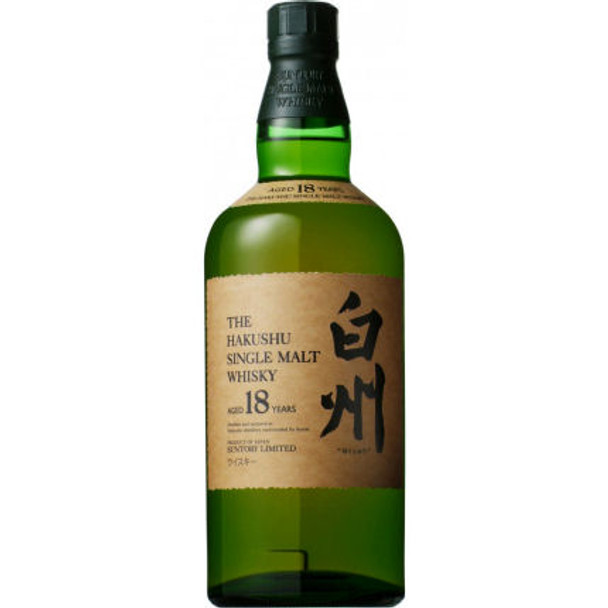 Suntory Hakushu 18 Year Old Single Malt Whisky 750ml