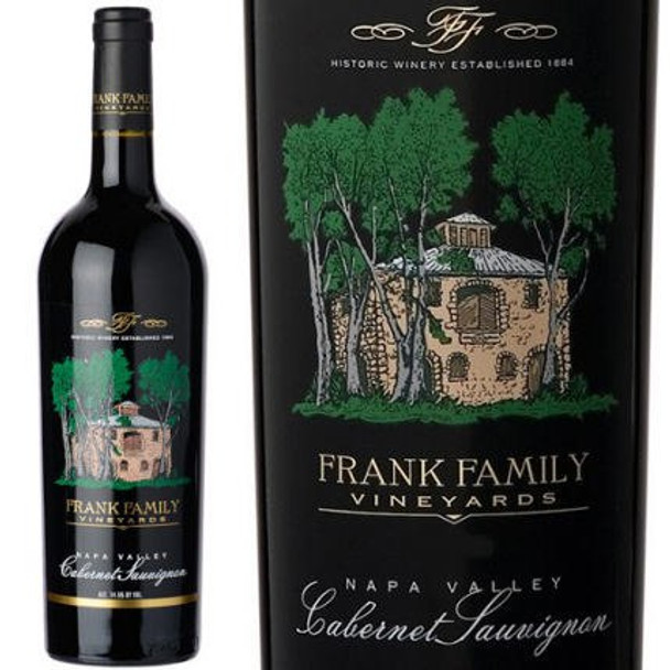 Frank Family Vineyards Napa Cabernet