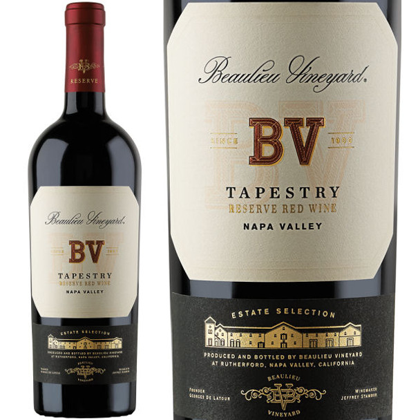 Beaulieu Vineyard Reserve Tapestry Napa Red Blend 2014 Rated 95JS