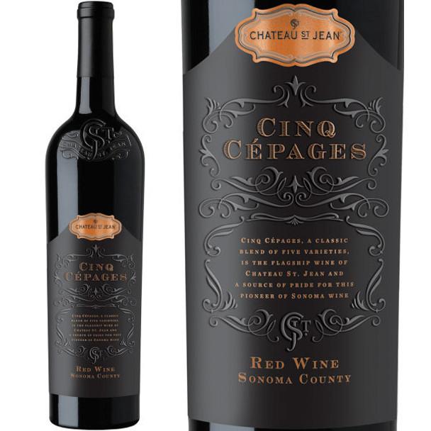 Chateau St. Jean Cinq Cepages Sonoma Red Wine