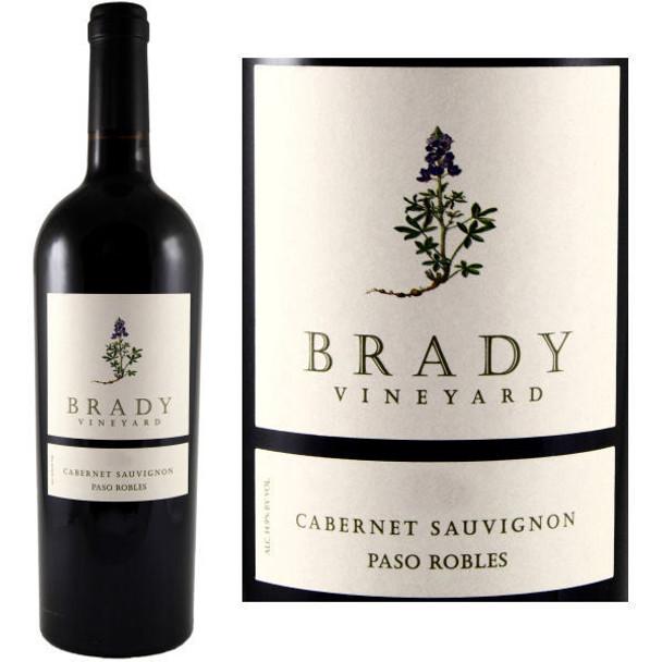 Brady Vineyard Paso Robles Cabernet