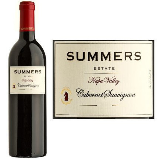 Summers Estate Napa Cabernet 2014 Rated 93JS