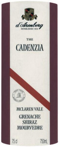 d'Arenberg The Cadenzia Grenache Shiraz Mouvedre