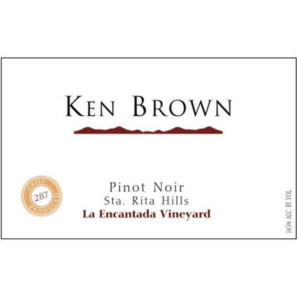 Ken Brown La Encantada Vineyard Sta. Rita Hills Pinot Noir