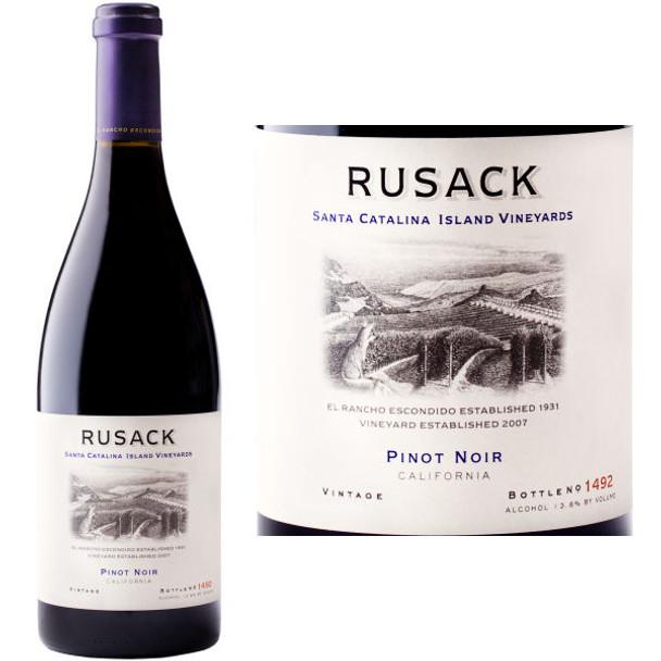 Rusack Santa Catalina Island Pinot Noir