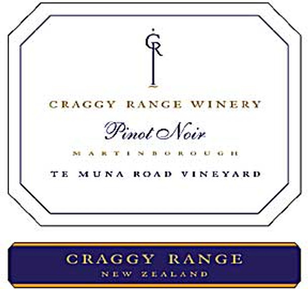 Craggy Range Te Muna Road Vineyard Pinot Noir