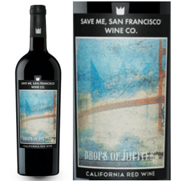 Save Me San Francisco Drops of Jupiter Red Blend