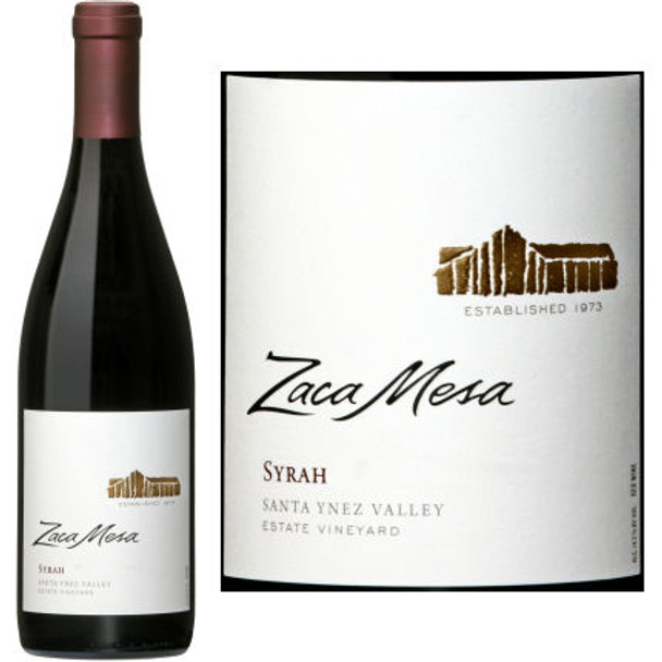 Zaca Mesa Estate Santa Ynez Syrah