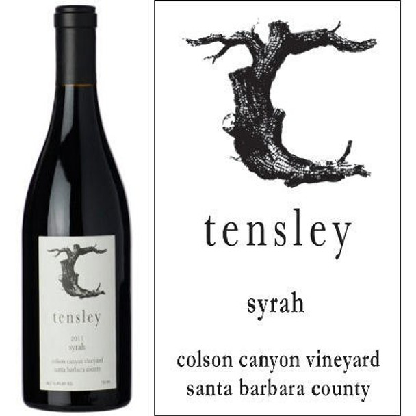 Tensley Colson Canyon Vineyard Santa Barbara Syrah