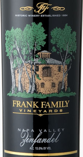 Frank Family Vineyards Napa Zinfandel