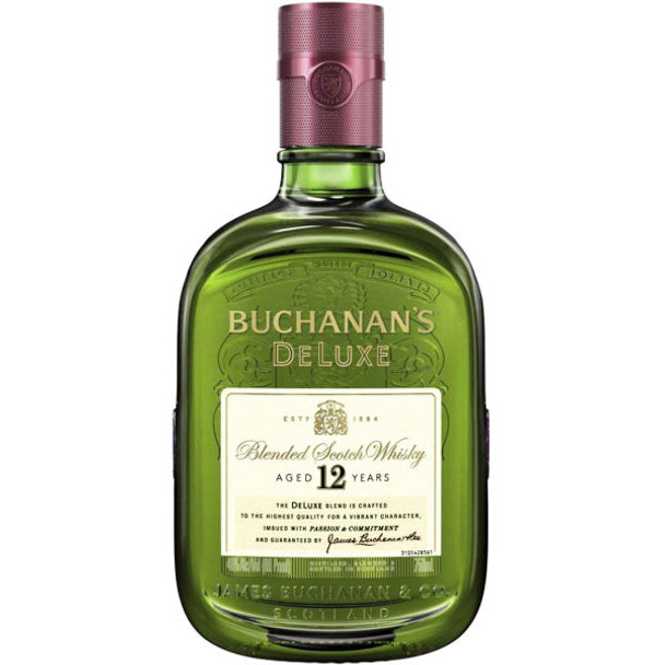 Buchanan's 12 Year Old Blended Scotch 750ML