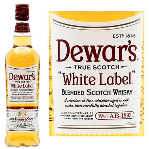 Dewar's White Label Blended Scotch Whisky 750ml
