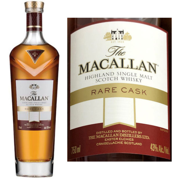 Macallan Rare Cask Batch 2 2019 Highland Single Malt Scotch 750ml