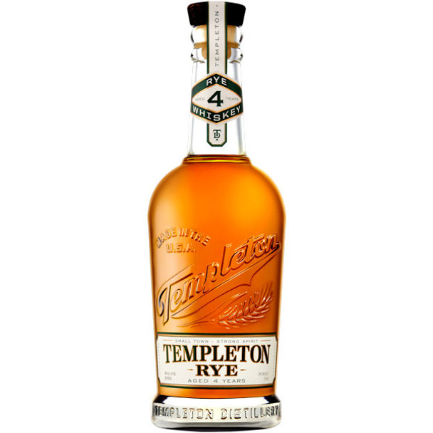 Templeton 4 Year Old The Good Stuff Rye Whiskey 750ml