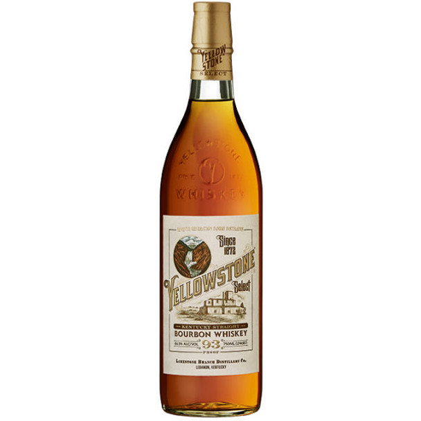 Yellowstone Select Kentucky Straight Bourbon Whiskey 750ml