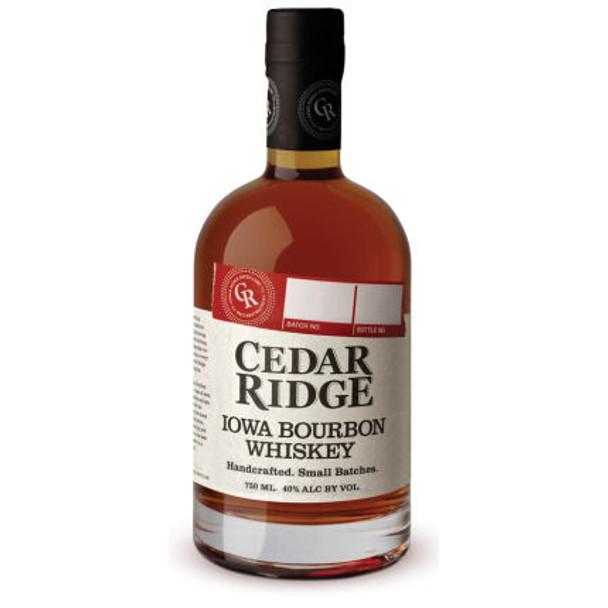 Cedar Ridge Iowa Bourbon Whiskey 750ml