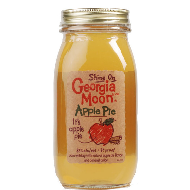 Shine On Georgia Moon Apple Pie Corn Whiskey Moonshine 750ml
