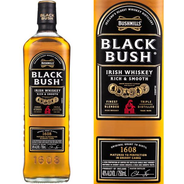 Bushmills Black Bush Special Old Irish Whiskey 750ml