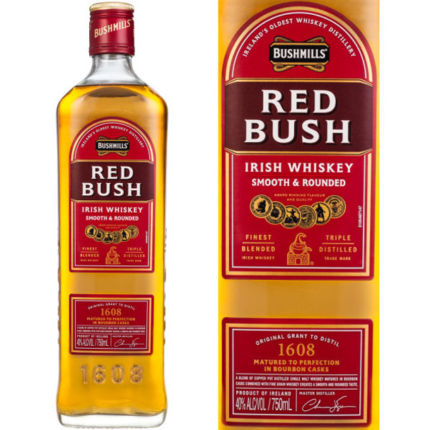 Bushmills Red Bush Irish Whiskey 750ml