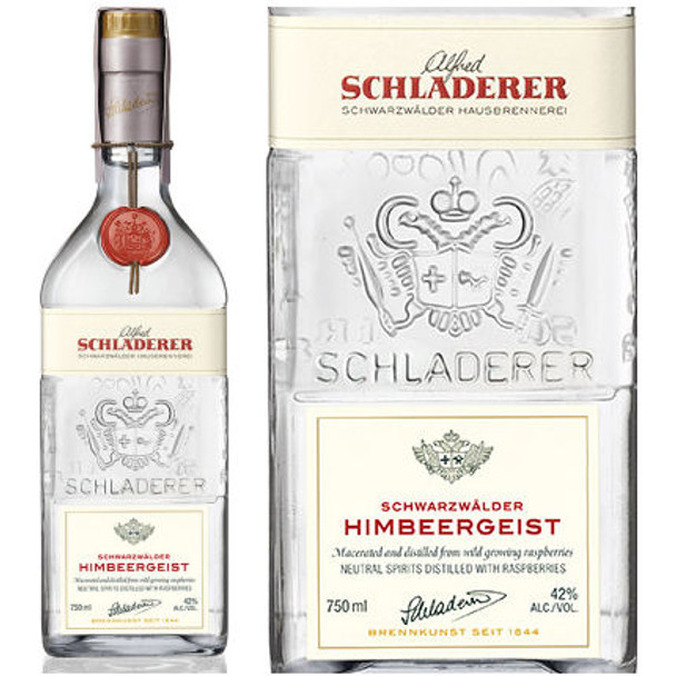 Schladerer Himbeergeist Black Forest Raspberry Brandy 750ml