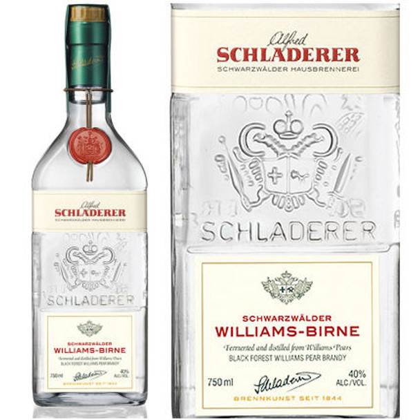 Schladerer Williams Birne Black Forest Pear Brandy 750ml