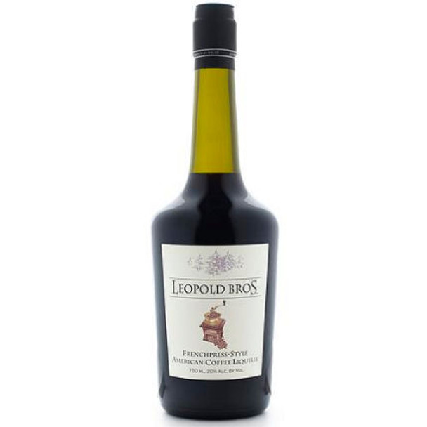 Leopold Bros. Frenchpress-Style American Coffee Liqueur 750ml