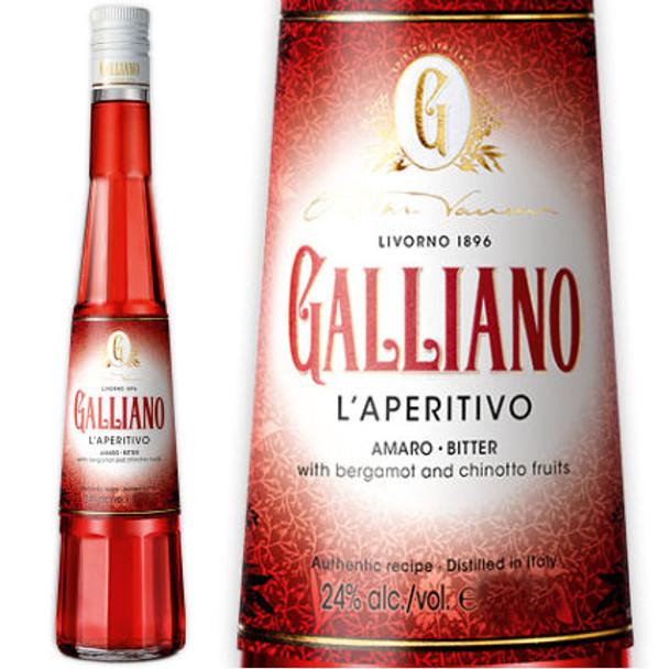 Galliano L'Apertivo Italian Amaro Bitter 375ml