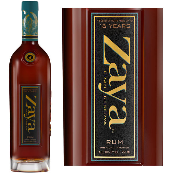Zaya Gran Reserva 16 Year Old Rum 750ml