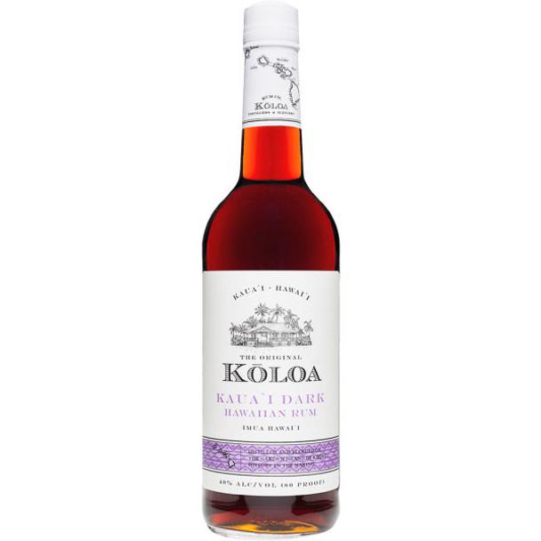 Koloa Kauai Dark Hawaiian Rum 750ml