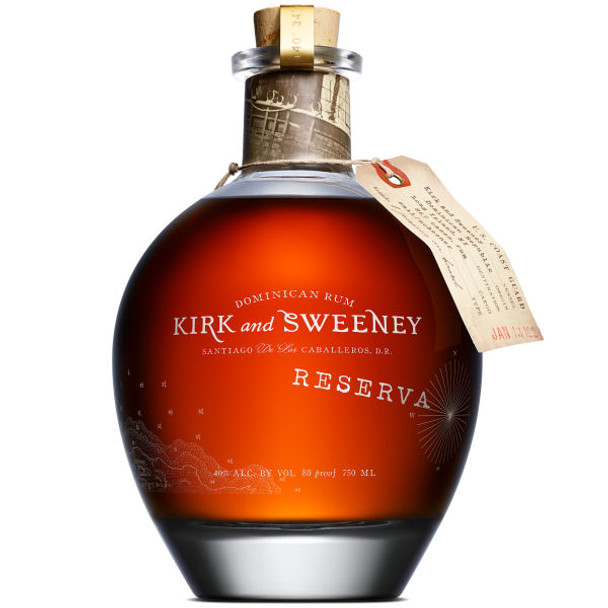 Kirk and Sweeney Reserva Dominican Rum 750ml