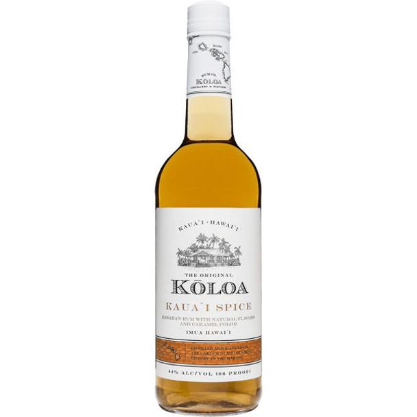 Koloa Kauai Spice Hawaiian Rum 750ml