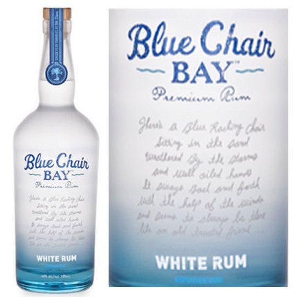 Kenny Chesney Blue Chair Bay White Rum 750ml