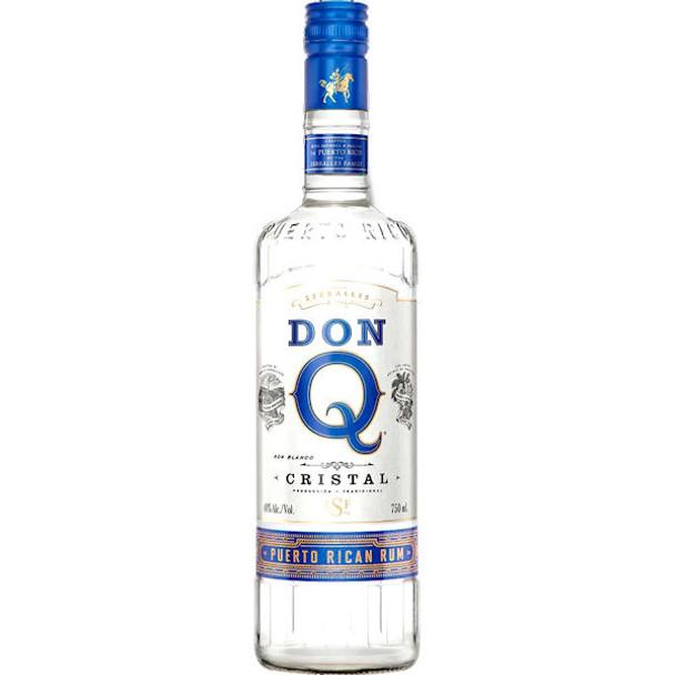 Don Q Cristal Puerto Rican Rum 750ml