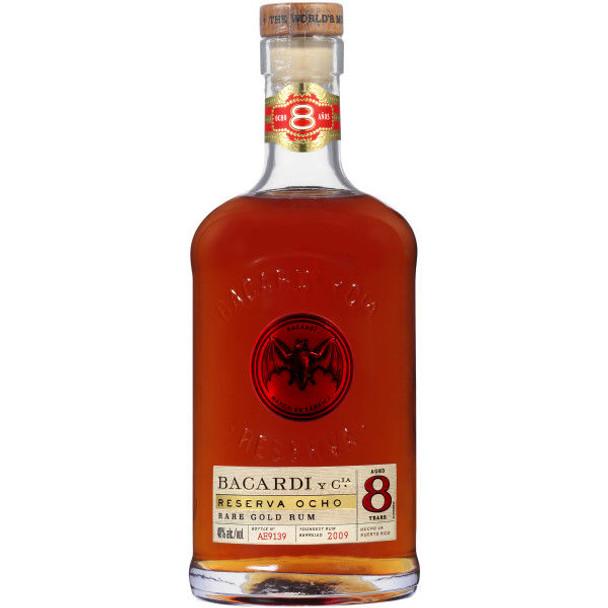 Bacardi Gran Reserva 8 Year Old Rum 750ml