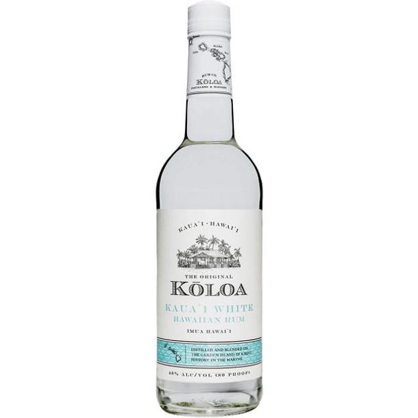 Koloa Kauai White Hawaiian Rum 750ml