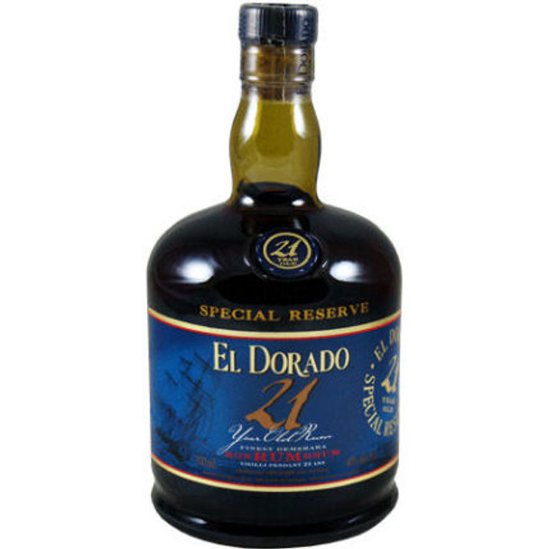 El Dorado 21 Year Old Guyana 750ml
