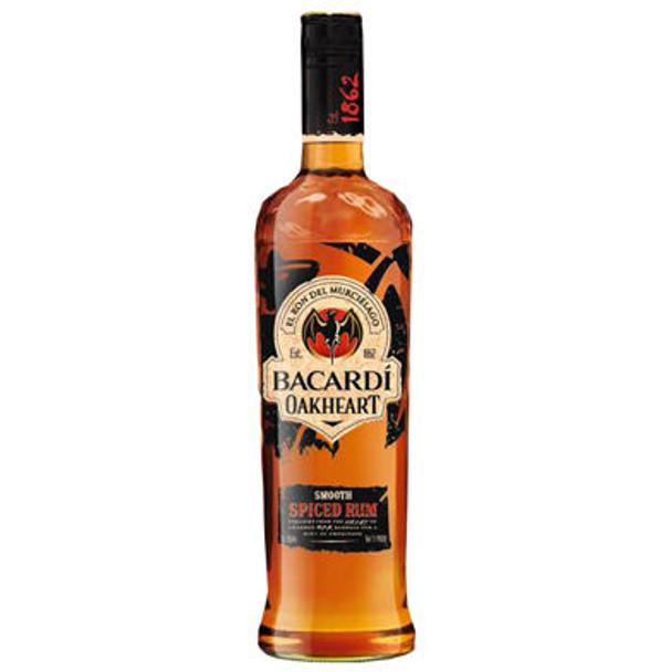 Bacardi Oakheart Spiced Rum 750ml