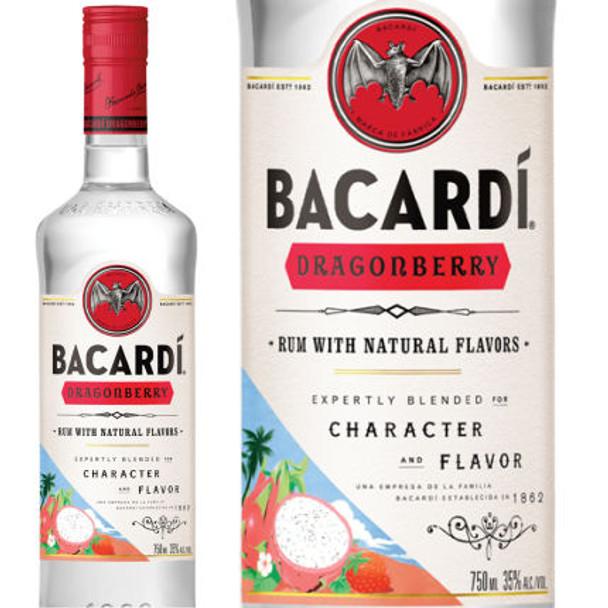 Bacardi Dragonberry Rum 750ml